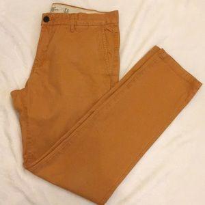 H&M Men's pants in a mustard